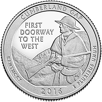 2016 D Bankroll of 40 - Cumberland Gap, KY National Park Quarter Uncirculated