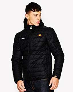 ellesse Mens Lombardy Padded Jacket, Green, X-Large at ...