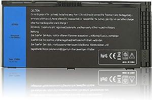 Mew M6600 Laptop Battery for Dell Precision M4600 M4700 M4800 M6700 M6800 Series Battery Fits Type FV993 KJ321 FJJ4W R7PND PG6RC RY6WH - [11.1V 97Wh]