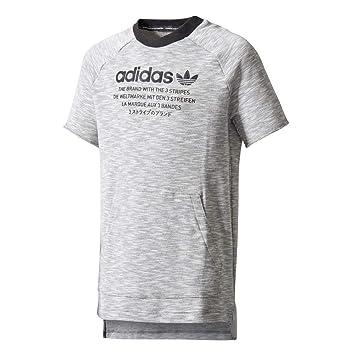 Adidas J NMD L Tee Junior, baby, J Nmd L Tee, Grigio (