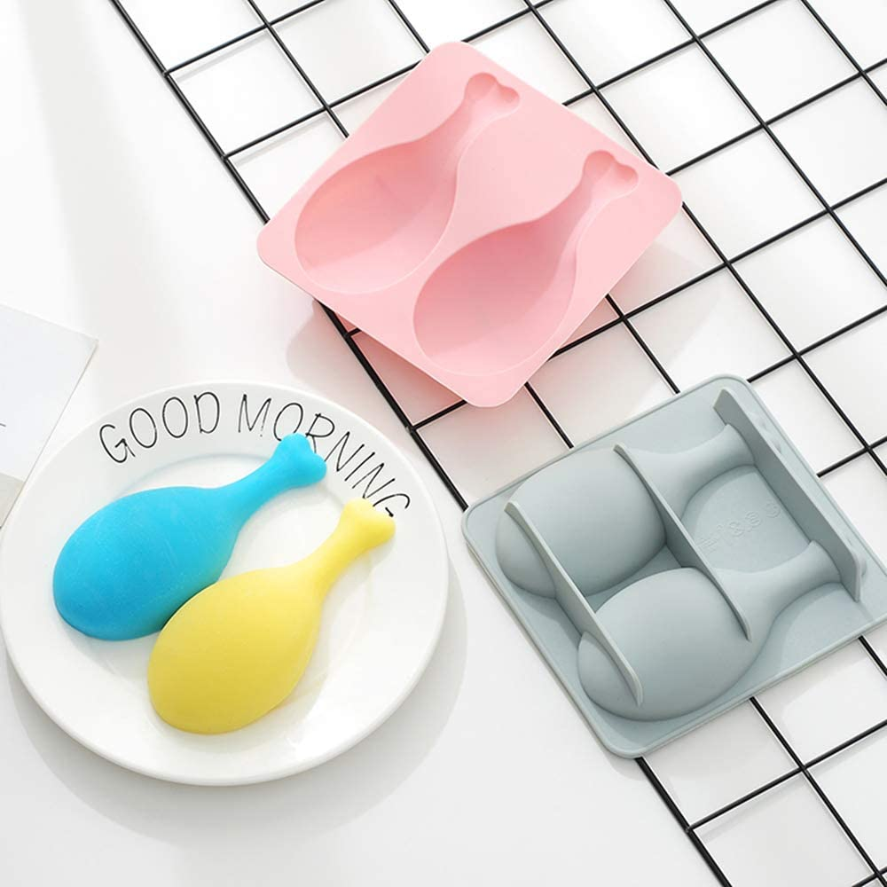Hand-made silica gel mould soap mould base silicon gel mould turning sugar cake mousse mould chicken