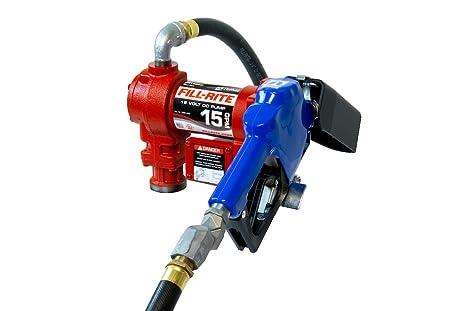Amazon.com: Fill-Rite FR1210GARC 12V 15 GPM Fuel Transfer Pump with