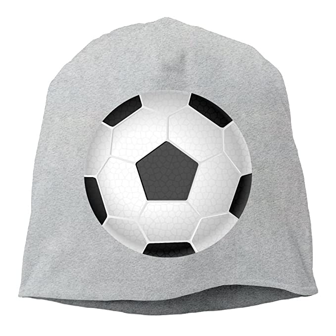 76cfe97165c Janeither Headscarf Soccer Ball Pattern Hip-Hop Knitted Hat for Mens Womens  Fashion Beanie Cap at Amazon Men s Clothing store