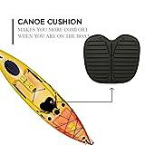 Bosiwee Kayak Fishing Boat Cushion Pad, Non-Skid