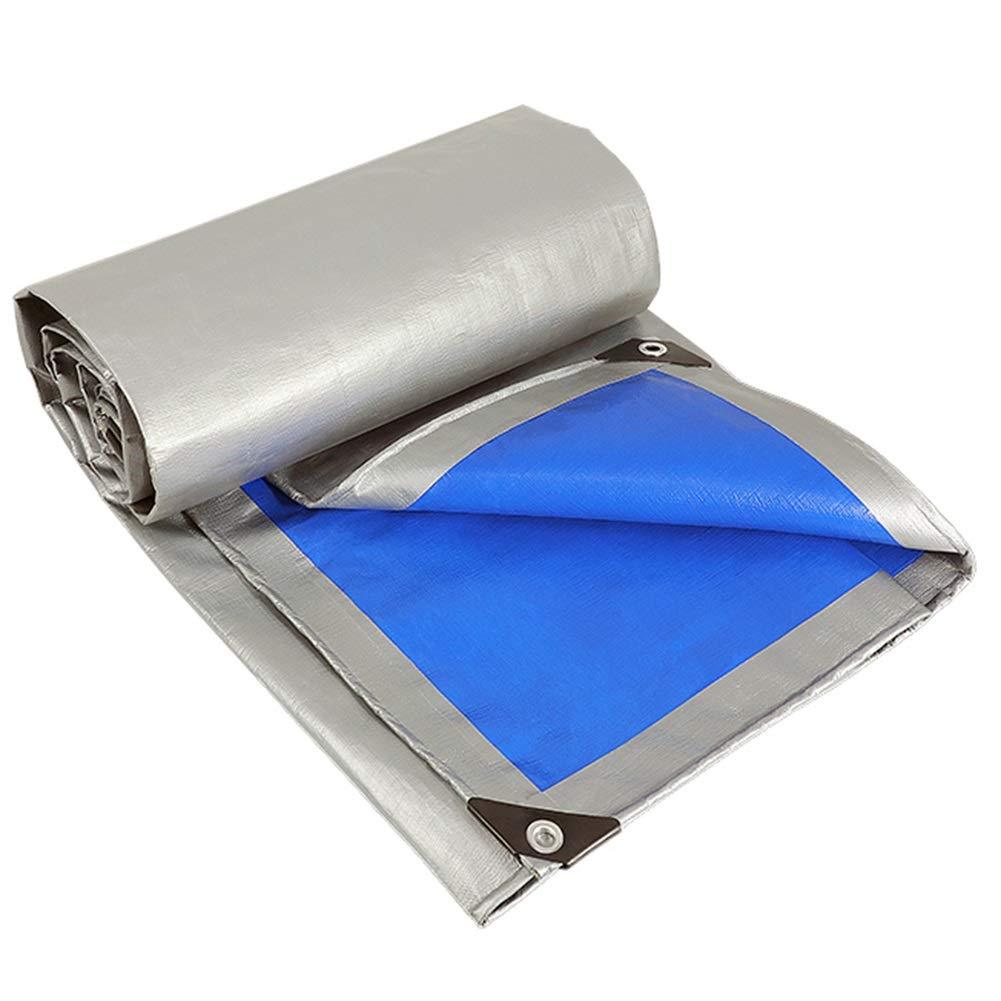 4m×6m BÂche imperméable de Prougeection Solaire, bÂche extérieure de Parasol, Toile de Couverture de bÂches de Camion Couvrant Le Tissu d'ombre (Taille   3m×6m)