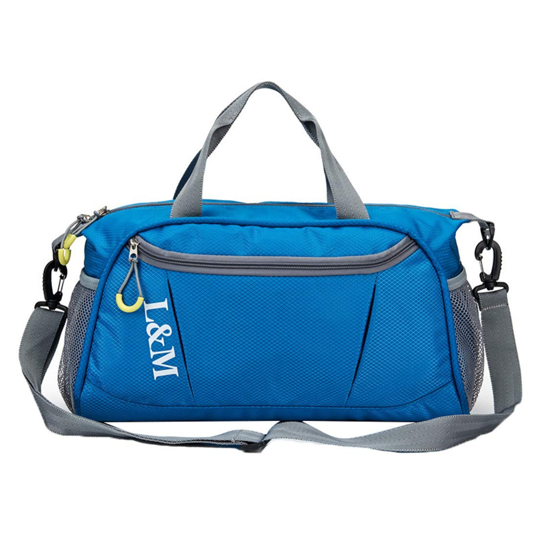 Haoda Schwimmen Wasserdicht Reisetasche Oxford Seesack Geräumige Leichtes Duffel Bag Tragbare Groß Fitnesstasch Damen Sporttasche Männer Trainingstasche Strand Tragetasche