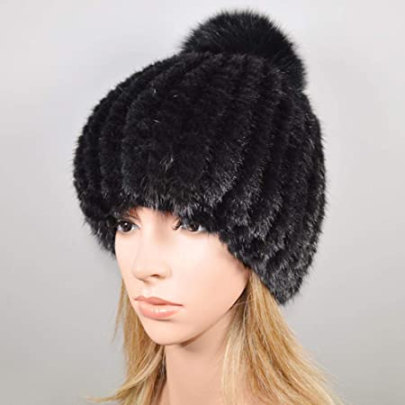 qualità superiore migliore a buon mercato risparmia fino all'80% Zara Lew Vero Cappello di Pelliccia di Visone Donna Inverno ...