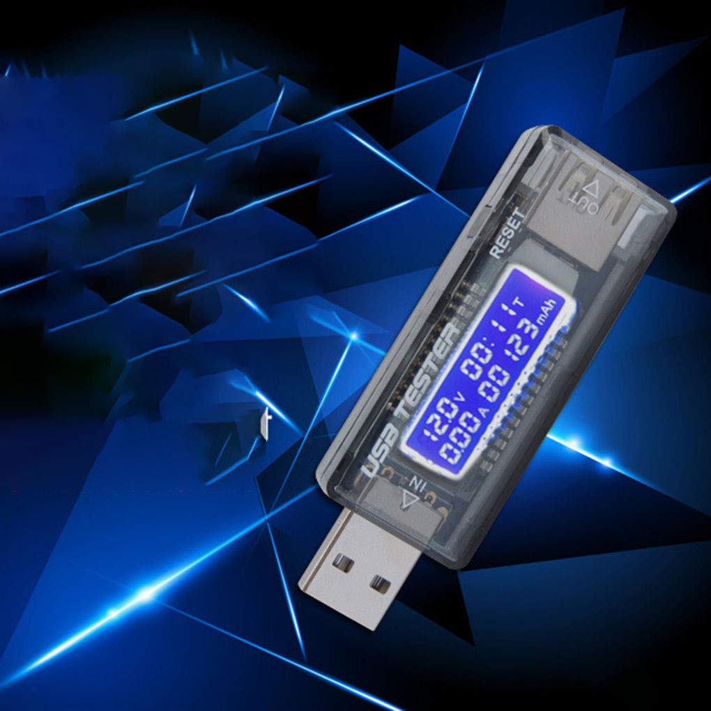 Ben-gi Cellulare Fast Charge USB Rivelatore USB Digital Display Attuale voltmetro Tester USB Amperaggio Meter