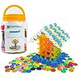 CHIPHELL 知育玩具 ブロック 積み木 おもちゃ はめ込み 3歳~7歳 知育 立体 パズル 男の子 女の子 プレゼント 500ピース 収納ケース付き
