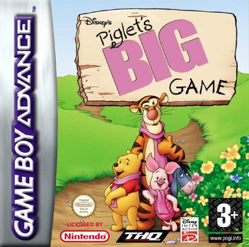Piglet S Big Game Adventures In Dream Gba Amazon Co Uk Pc Video Games