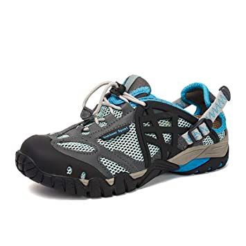 Mens Outdoor Hiking Shoes Athletic Breathable Non Slip Trail Sneakers Sandals Men's Shoes