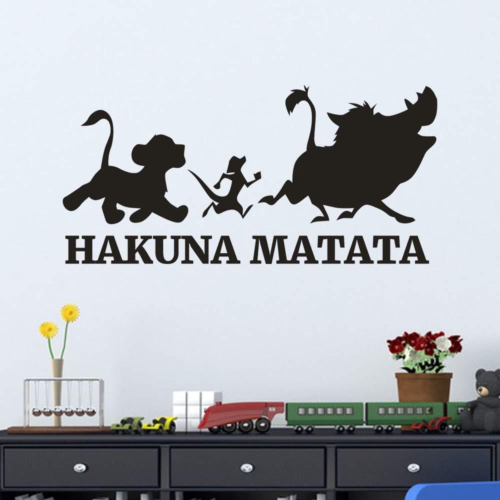 El Rey León diciendo: Hakuna Matata, No Se Preocupe, Cita Tatuajes ...