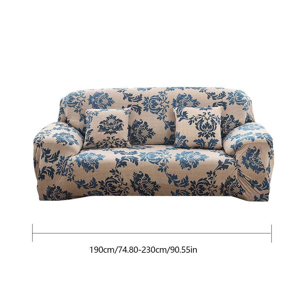 Estampado Cubre Sofas Protector de Sof/á iShin/ê Universal Funda de Sof/á El/ástica