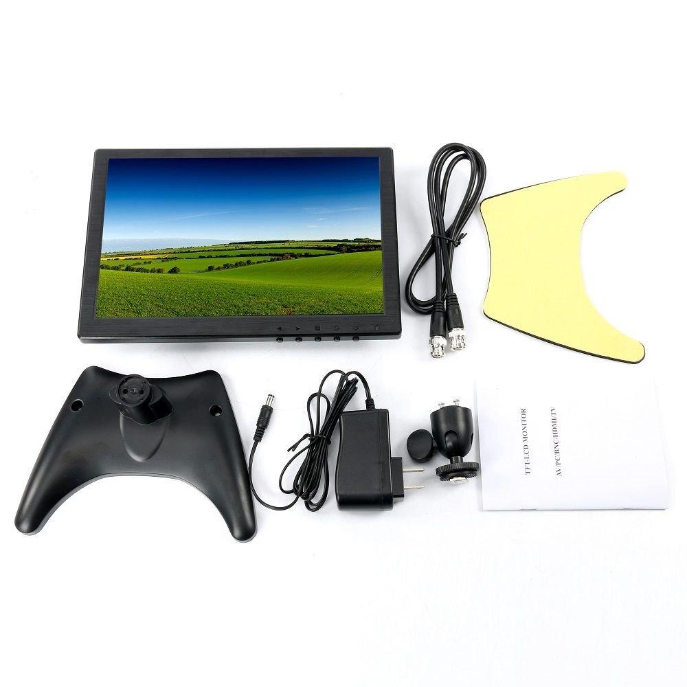 10.1'' HD USB Multi-Media Player IPS LCD 1280x800 HDMI AV BNC VGA TFT LED Monitor by YaeCCC (Image #3)