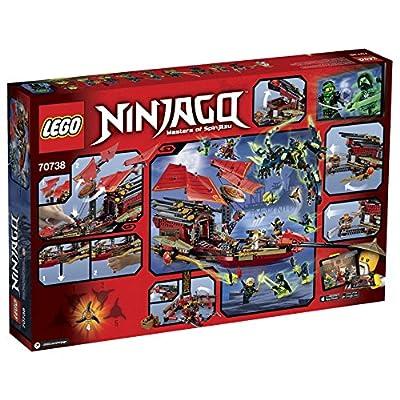 Lego Ninjago 70738 Final Flight of Destiny's Bounty Building Kit: Toys & Games