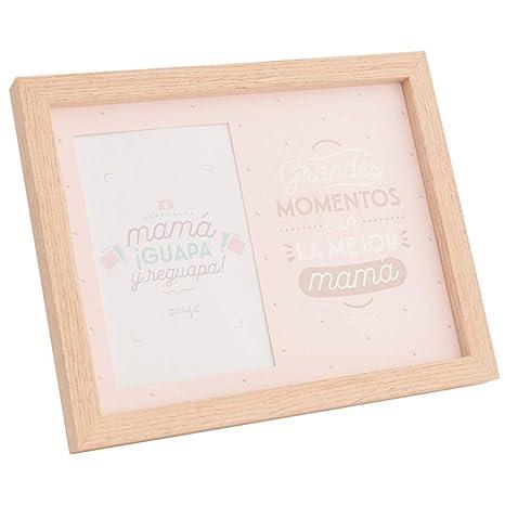 Amazon.com: Mr. Wonderful Photo Frame, Wood, Pink, 20 x 1.5 ...