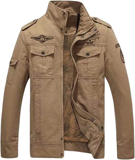 Militaire WanYangg Classique Tactique Homme Style Blouson CQdshtrx