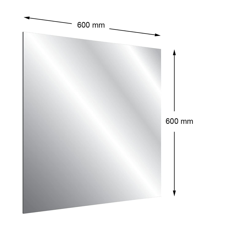 3/mm vorgeschnittenen Acryl Zwei Wege Spiegel 600/x 600/mm