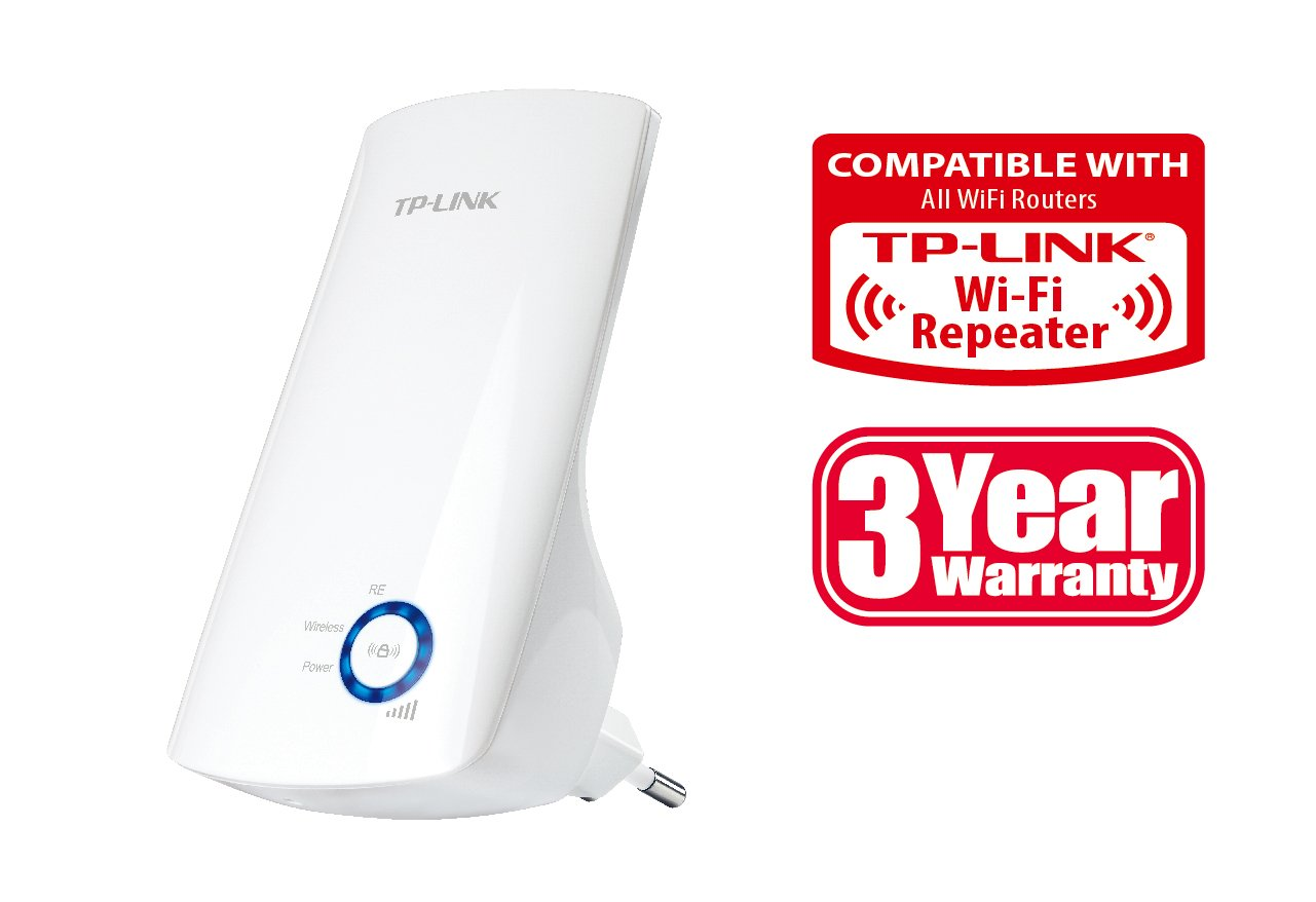 Extensor de red WiFi/WiFi Booster TP-LINK TL-WA854RE por solo 17,90€