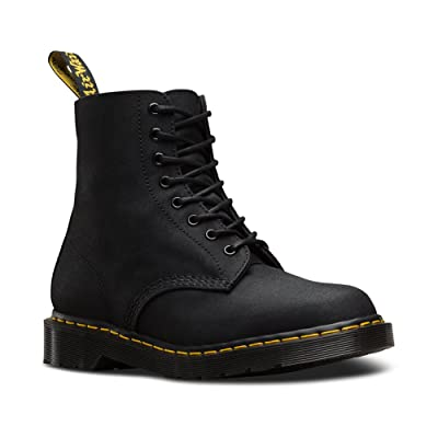 Dr. Martens Unisex-Adult Pascal Mil 8 Eye Boot | Motorcycle & Combat