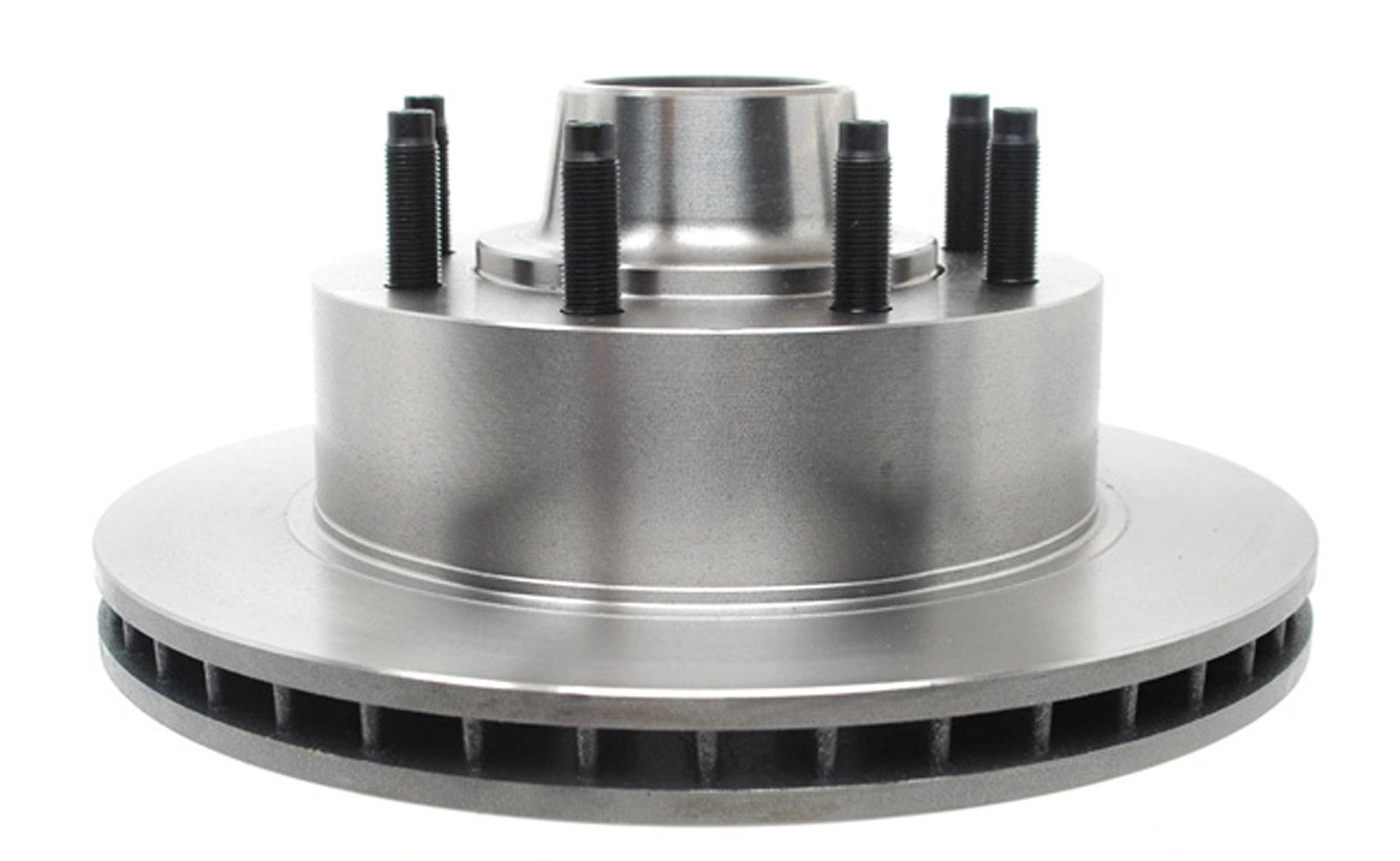 ACDelco 18A723A Advantage Non-Coated Front Disc Brake Rotor and Hub Assembly