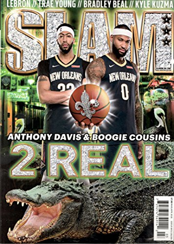 Slam Magazine (March/April 2018) Anthony Davis & Boogie Cousins Cover