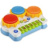 Maeffort Baby Music Toy, Learning and Development Fun Toddler Toys Musical keyboard Drums Set for Babies Early Educational Game