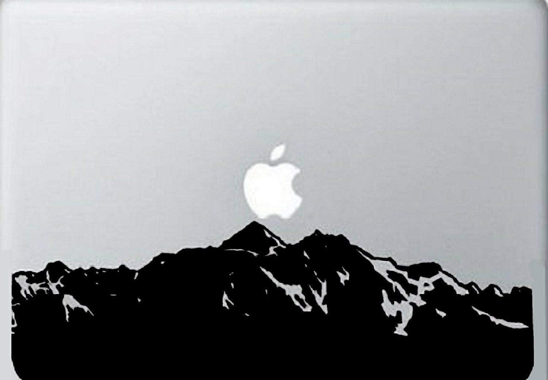 "Lplpol Mountain Skyline Apple MacBook Laptop Air Pro Decal Sticker Skin Vinyl Mac MBA 6"""