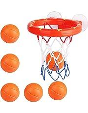 ef897fdd471 Toyvian 7 Piezas Juego de Baloncesto Niños Baloncesto de Baño para Niños