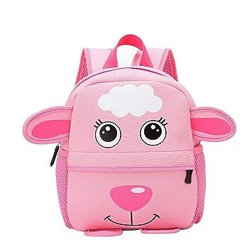 DDYUXIA Mochilas infantiles dibujos animados para niños y niños pequeños, pequeño oveja Daypack preescolar jardín de infantes Bolsa para niños pequeños y ...