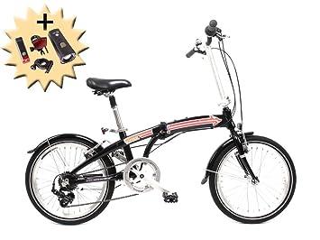 50.8 cm pulgadas ruedas de bicicleta plegable plegable Alu Bike Shimano 7 velocidades de circulación de