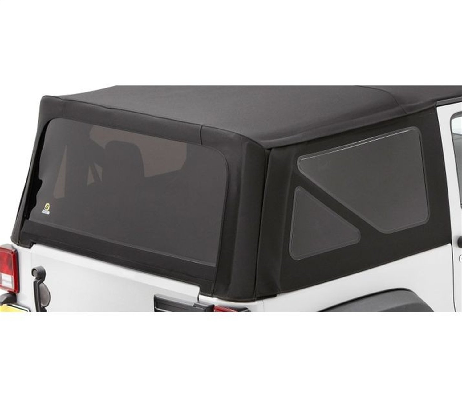 Bestop 58134-35 Black Diamond Tinted Window Kit Sailcloth Replace-A-Top for 2011-2018 Wrangler JK Unlimited
