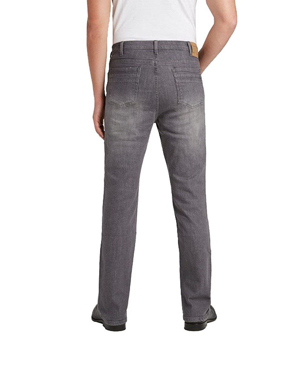 Grand River Grey Stretch Traditional Fit Jeans