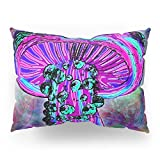 Society6 Trippy Shroom Pillow Sham Standard (20'' x 26'') Set of 2