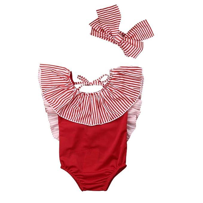 Amazon.com: AR-LLOYD - Traje de baño para bebé y niña con ...