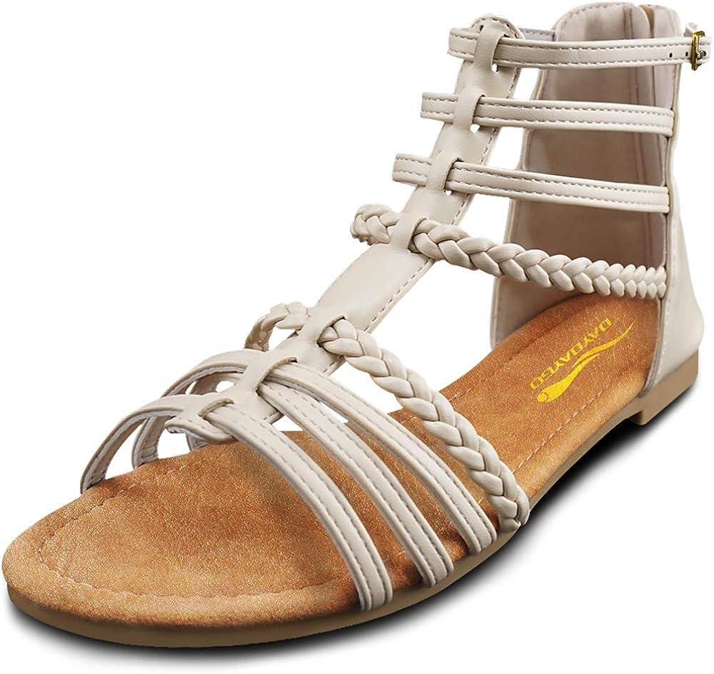 DAYDAYGO Gladiator Sandals for Women