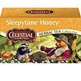 Celestial Seasonings Herbal Tea, Sleepytime Honey, 20 Count (Pack of 6)