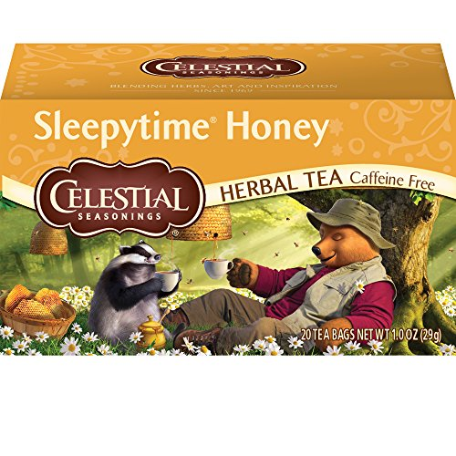 Celestial Seasonings, Herbal Tea, Sleepytime, Honey, 20 Count