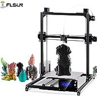 FLSUN Impresoras 3D Plus Tamaño Prusa i3 Diy Kit 300x300x420mm Auto nivelación Gran tamaño de impresión Cama con calefacción Full Gifts PLA, filamento ABS 1.75mm