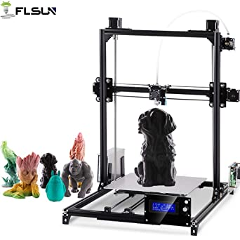 FLSUN Impresoras 3D Plus Tamaño Prusa i3 Diy Kit 300x300x420mm ...