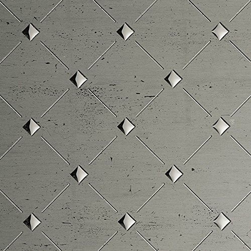 WallFace 17857 3D Wall panel self-adhesive Mosaic decor Luxury wallcovering self-adhesive platin grey silver | 2,60 sqm by Wallface (Image #5)