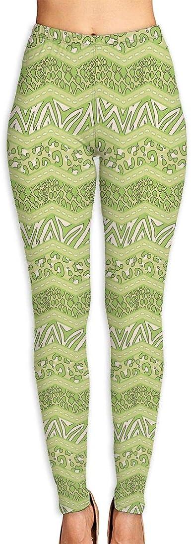 Womens Yoga Pants Colorful Chevron Fitness Power Flex Yoga Pants Leggings