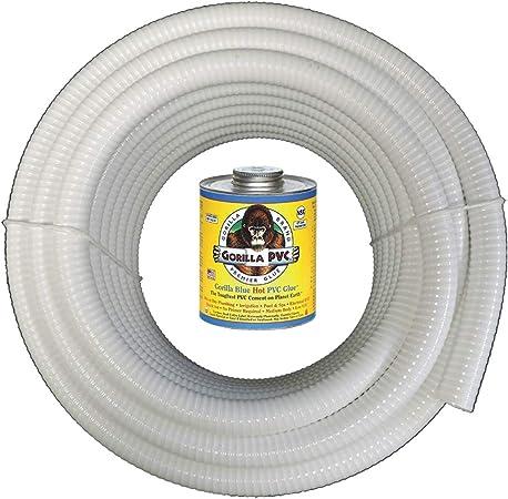 Amazon.com: HydroMaxx - Tubo flexible de PVC para piscinas ...