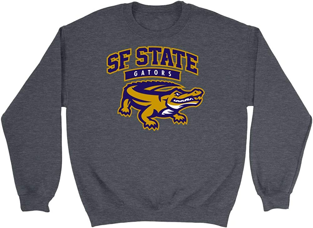 Official NCAA San Francisco State University RYLSFS06 Mens//Womens Boyfriend Sweatshirt