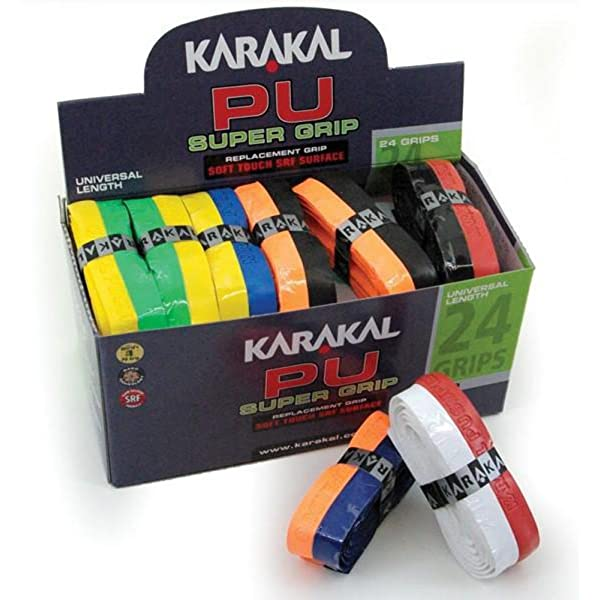 Karakal PU Supergrip replacement racquet grip - tennis / badminton ...