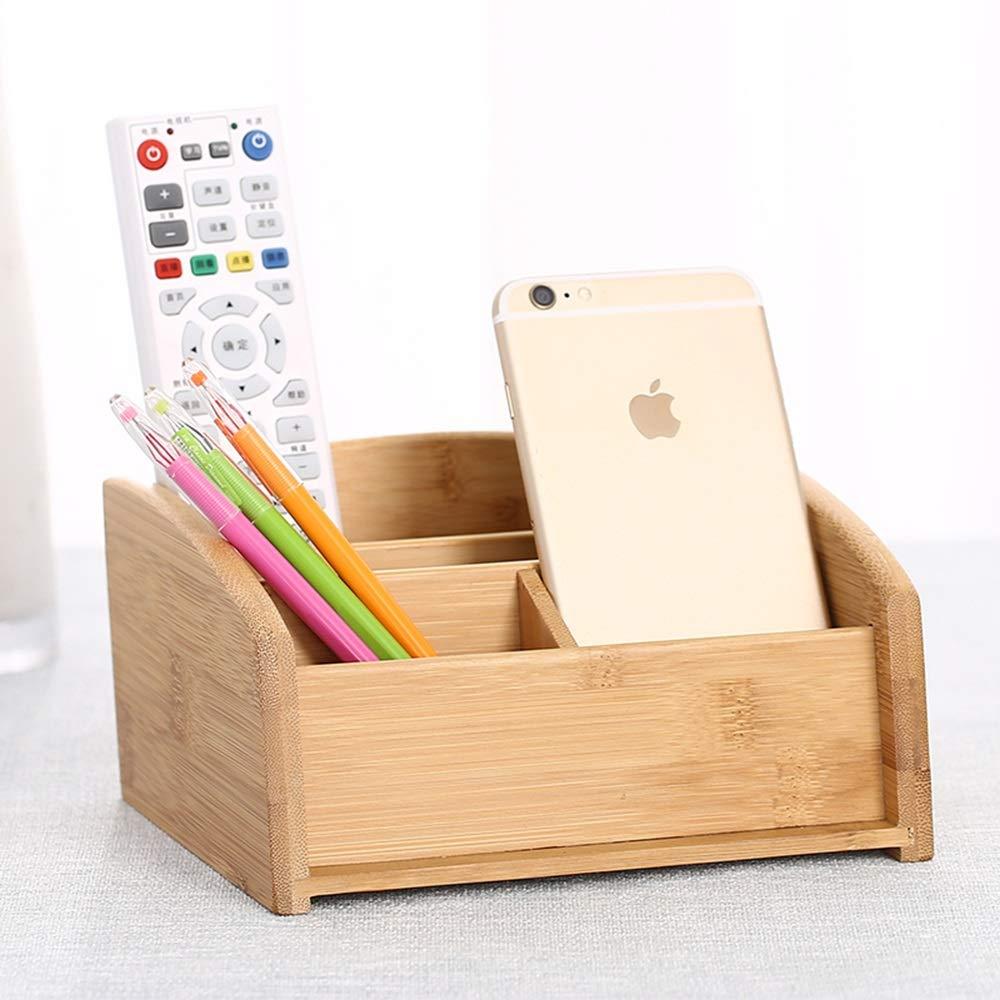 FEI Rack Multifunktionale Bambus Organizer Schreibtisch Caddy Supply Halter Stift Bleistift Pinsel Fach Küche Bad Arbeitsplatte Lagerung