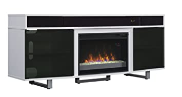 Amazon.com: ClassicFlame 26MMS9626-NW145 Enterprise TV Stand with ...