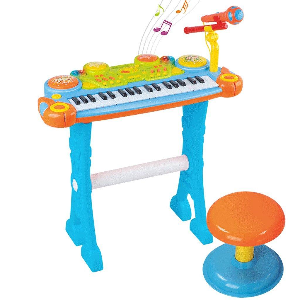 Multifunktionale Handtrommel für Kinder 37 Schlüssel elektronische Tastatur frühe Kindheit Musik elektronische Klavier