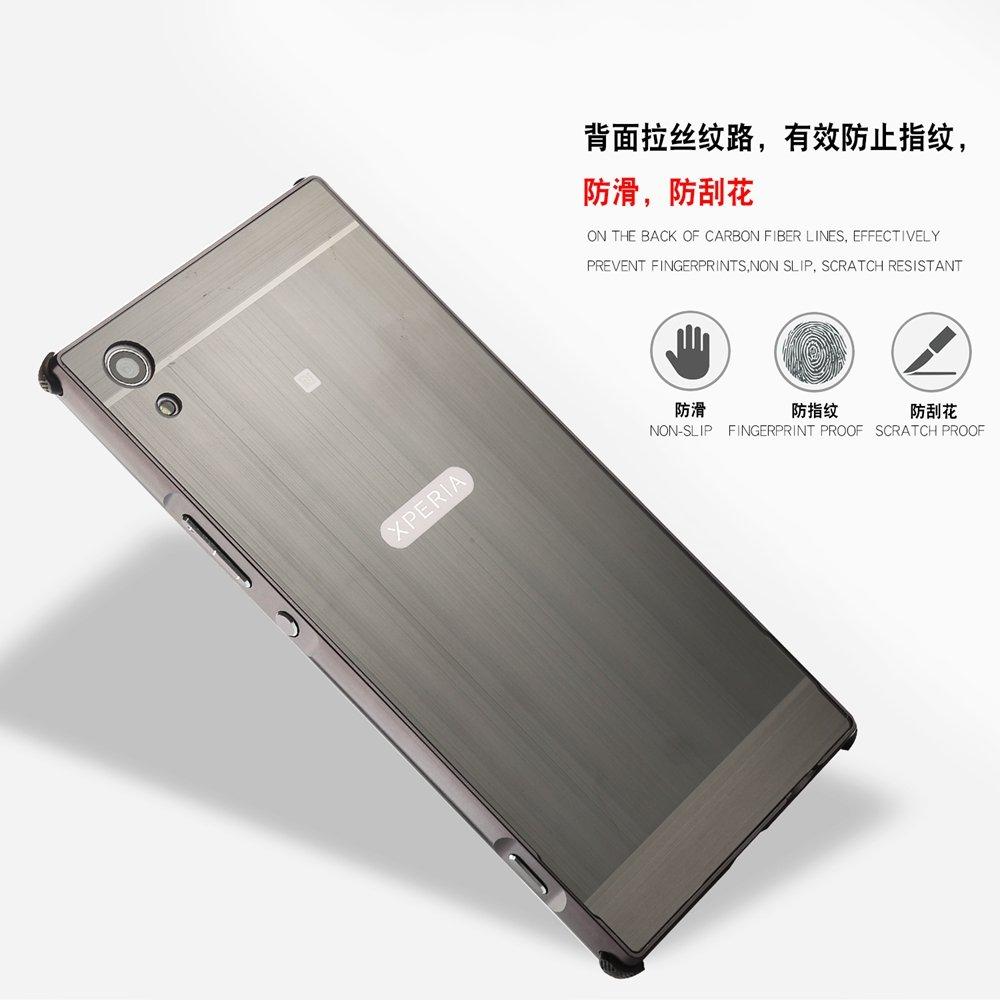 Amazon.com: for Sony Xperia XA1 Plus Aluminium Metal Bumper ...