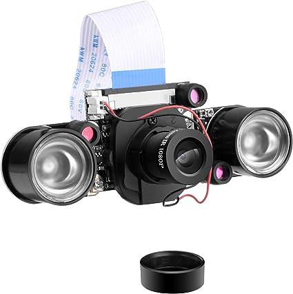 Pi,Pi 3 Camera 1080P OV5647 Module Night Vision for Raspberry Video 5MP Hd